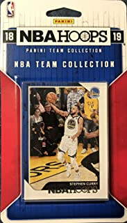 2018 2019 Hoops NBA All Stars Collection Special Edition Factory Sealed Basketball Set with Lebron James of The Lakers and Stephen Curry and Kevin Durant of The Warriors Plus 7 Other Superstars