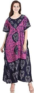 GE Export Women'S Cotton Floral Maxi Nighty RDSRKAZ2104474