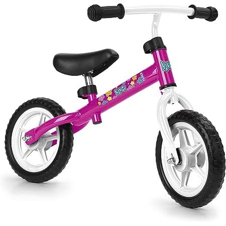 Feber-700012480 Bicicleta sin Pedales, Nancy, Color Rosa, no aplicable (Famosa 700012480)