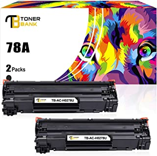 Toner Bank Compatible Toner Cartridge Replacement for HP 78A CE278A Toner HP Laserjet P1606dn 1606dn HP Laserjet M1536dnf 1536dnf MFP HP Laserjet P1566 P1560 Toner Cartridge Printer Ink (Black,2Pack)