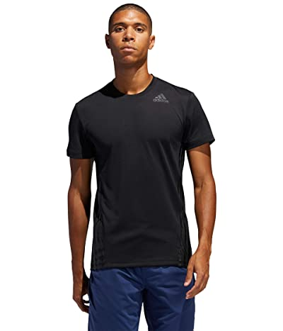 adidas Aeroready Stripe Tee (Black) Men