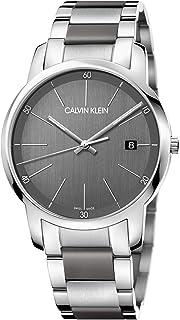 Calvin Klein Men's Quartz Watch, Analog Display and Stainless Steel Strap K2G2G1P4