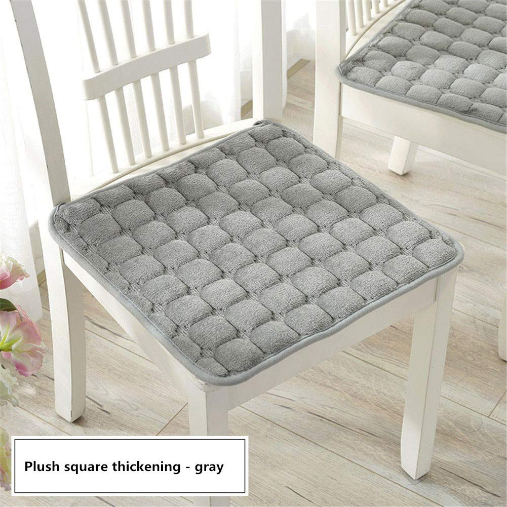 YDMR Set of 10 Square chair pads kitchen chairs Plush garden chair