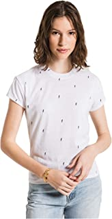 Z Supply Clothing Women's Lightning Bolt Modern Crew T-Shirt