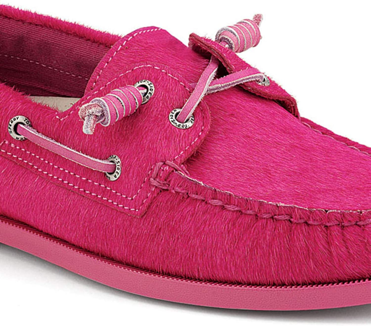 Sperry Top-Sider A O Pony Hair 9.5 Pink