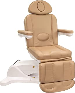 Medical Spa Facial Bed Exam Dermatology and Procedure Chair w Rotation - All Electric (Sand)
