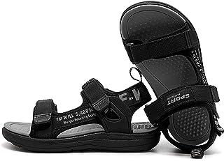 DADAWEN Kids Girls Boys Water Sandals Outdoor Hiking Adjustable Strap Sport Sandals