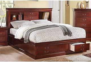 huey vineyard queen sleigh bed