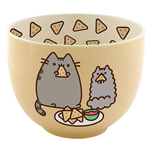 Official Licensed Our Name is Mud Pusheen Ceramic Popcorn Bowl