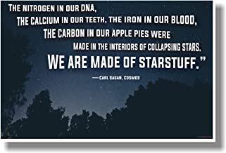 We Are Made Of Starstuff - Carl Sagan, Cosmos (2) - NEW Science Poster