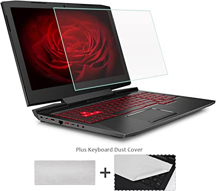 "Laptop Screen Protector Tempered Glass for 15.6"" notebook 9H Hardness Scratch Proof Laptop Tempered Glass Display 16:9, Keyboard Dust Cover Included"