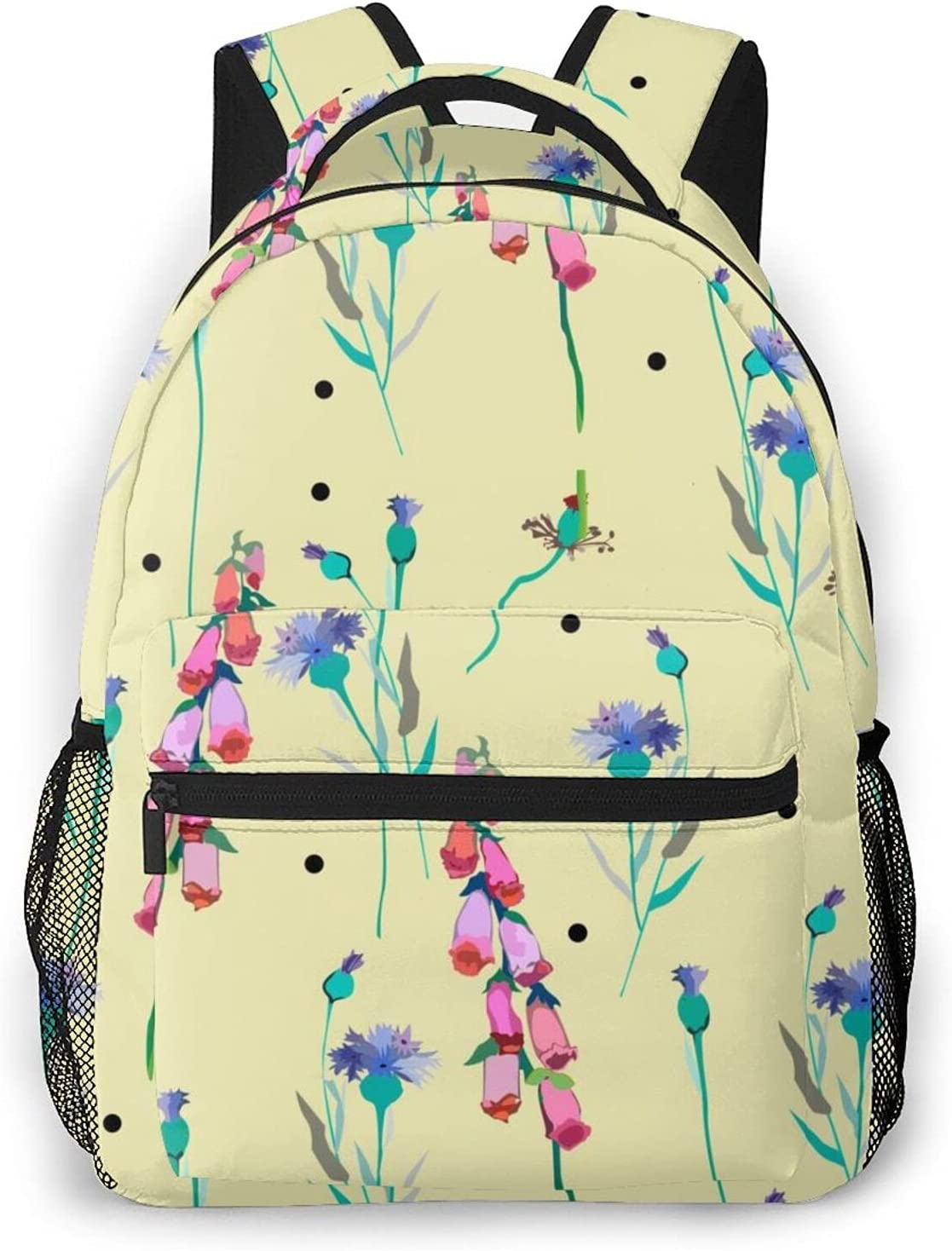 Lightweight Water Resistant Fashion Prints Backpacks For Teen Girls Women School Bookbags