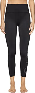 Calvin Klein Women's Fitness Compression Pant With Vertical Logo
