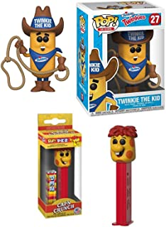 Funko Cereal Pop! Head Captain Crunch Character Pez Head Bundled with Ad Icons #27 Twinkie The Kid Vinyl Figure Retro Cap'n Crunch Fun Morning Characters