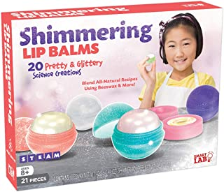 "SmartLab Toys Shimmering Lip Balm - 21Piece - 20 Recipes - 5 Lip Balm Pods, 11 1/4""H x 8 1/2""W x 2 1/4""D"