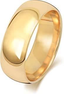 Anello Fede Nuziale Uomo/Donna 8mm in Oro giallo 18k (750) WJS1886418KY