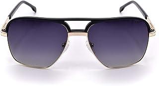 MS7074 C3 نظارة شمسية ميك كلوب ماستر للجنسين أسود / ذهبي