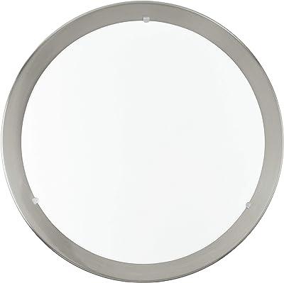 Eglo 31254 Plafonnier, Métal, Integriert, Transparent