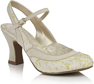 Ruby Shoo 09261 Lucia Cream/Lemon