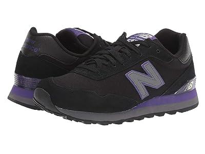 New Balance Classics WL515v1-USA (Black/Prism Purple) Women