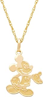 Best mickey mouse pendant gold Reviews