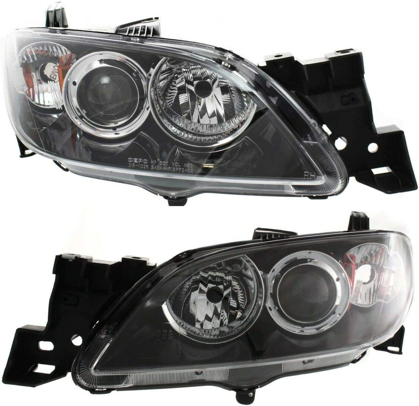 VioletLisa New Max 54% OFF Max 44% OFF Replacements Headlight Set Sed with Compatible GS