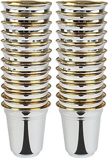 Silver Like Shot Cups Heavyweight Plastic 2 oz. (24 Cups)