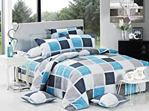 Brinty Doube/Queen/King/Super King Size Bed Doona/Duvet/Quilt Cover Set New (2 x European Pillowcases)