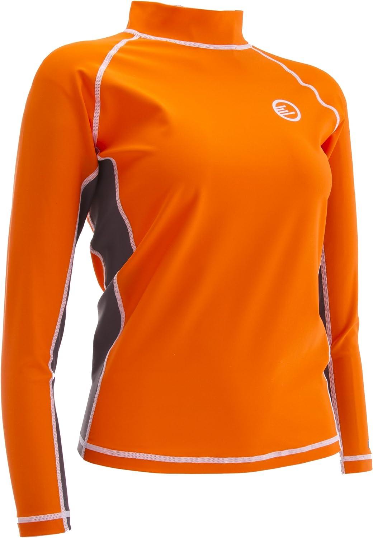 Pro Tek Women's Southhampton Long Sleeved UPF 50+ Compression/Rashguard Shirt