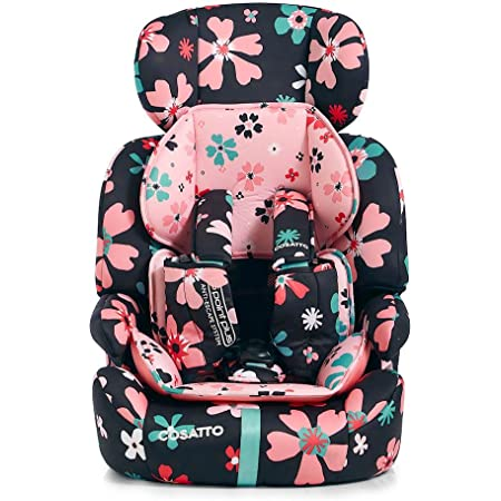 Dragon Kingdom Forward Facing Cosatto Zoomi Car Seat Side Impact Protection 9-36 kg 9 Months-12 years Group 1 2 3