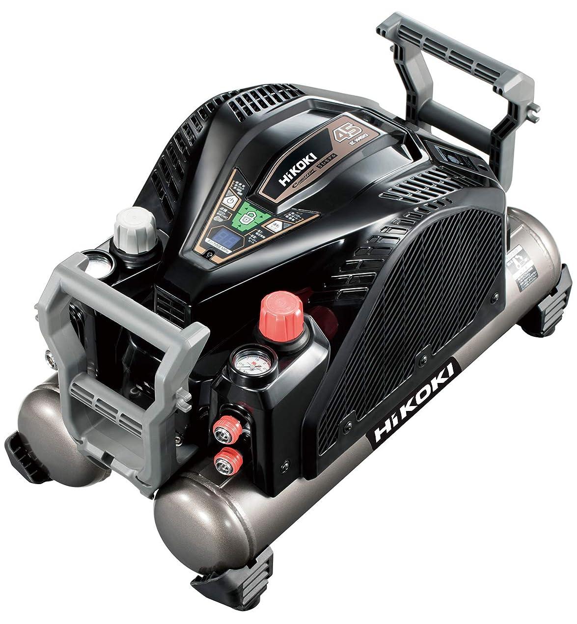艶ストリップ立法HiKOKI(旧日立工機) 釘打機用エアコンプレッサ タンク容量12L タンク内圧45気圧 高圧/一般圧対応 セキュリティ機能付き EC1445H3