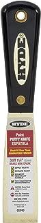 Hyde Tools 02080 1.25-Inch Stiff Chisel Edge Putty Knife, Brass