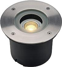 SLV Wetsy Vloerinbouwlamp LED 300 / LED spot voor terras, outdoor spots, inbouwlamp tuin, vloerlamp voor buiten / IP67 300...