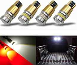 iBrightstar Newest 12-24V Super Bright 194 912 921 168 175 2825 W5W T10 LED Bulbs with projectors For Car Truck 3rd Brake ...