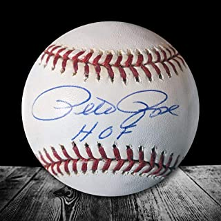 Pete Rose Autographed Ball - Official Major League HOF - Autographed Baseballs