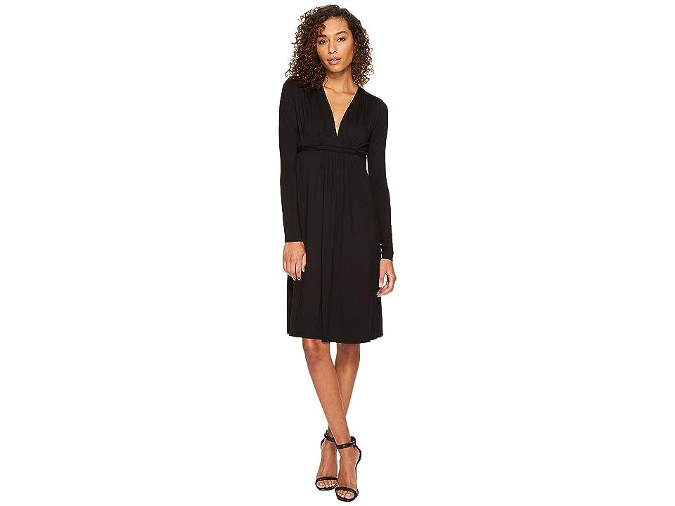 Rachel Pally Long Sleeve Caftan (Black) Women