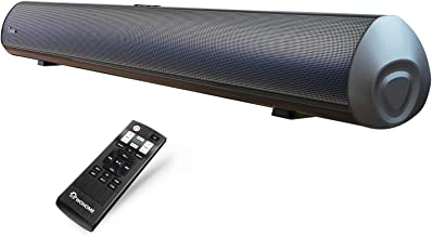 Soundbar Wohome TV Sound Bar 38-Inch 80W with Built-in Subwoofer, Bluetooth, Remote Control,6 Speakers, Deep Bass, Optical AUX Coaxial Wired Input, Mount Kit, Model S9910 Surround Sound Bars