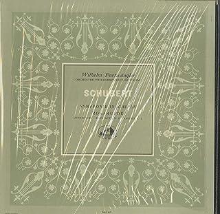 シューベルト:交響曲8番「未完成」,「ロザムンデ」~序曲,第2幕導入部,バレエ音楽第2番