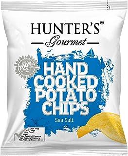 Hunter's Gourmet Hand Cooked Potato Chips Sea Salt - 40gm