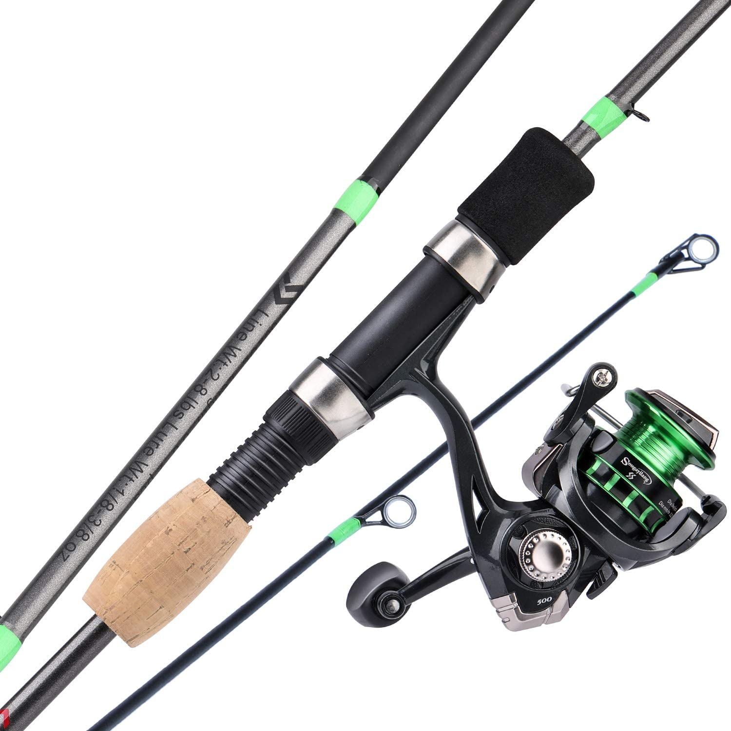 Sougayilang Fishing Rod and Reel Blank Graphite Stai Rods Selling Combos Max 40% OFF