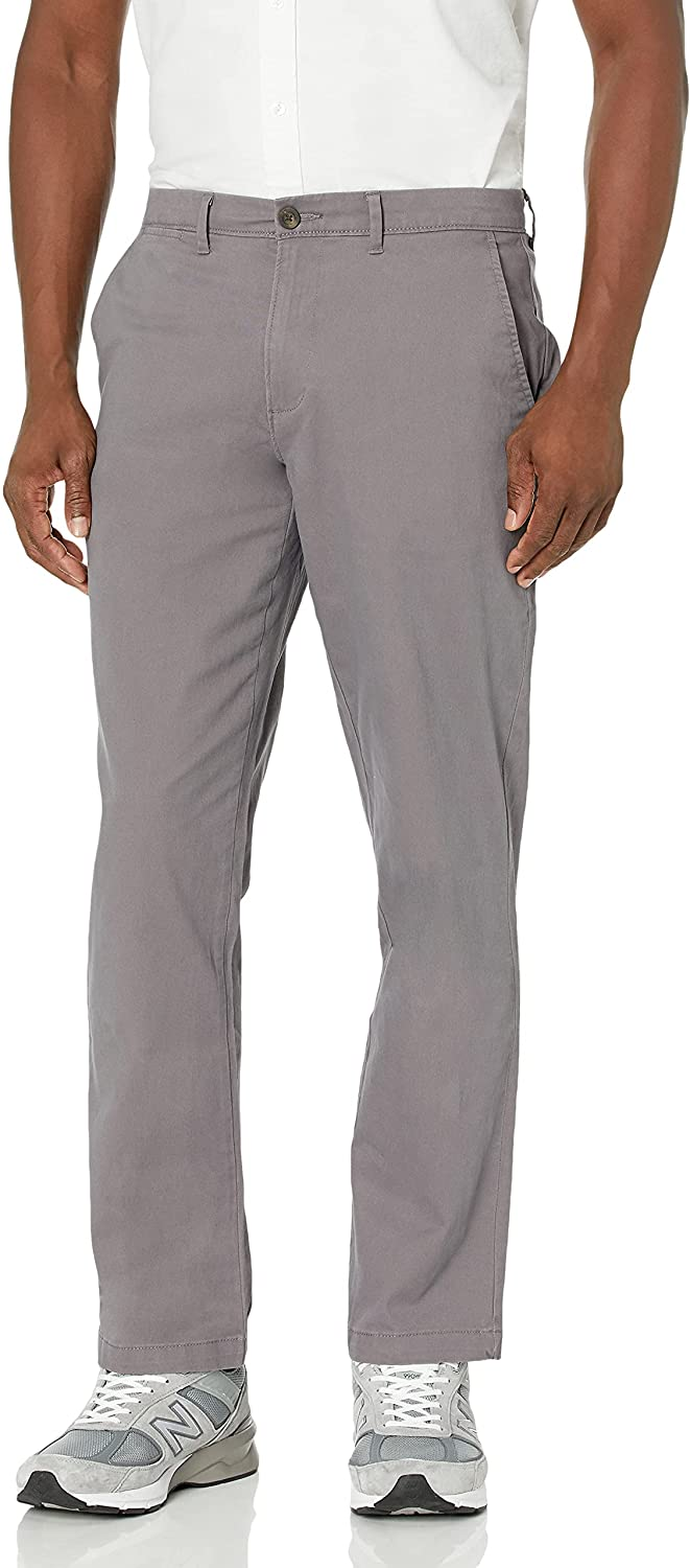 Amazon Essentials Time sale Men's Athletic-fit Ranking TOP12 Khaki Pant Stretch Casual