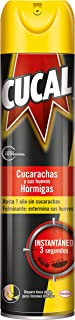 Cucal Insecticida Aerosol Cucarachas y Hormigas - 400 ml