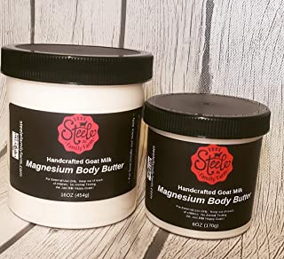 Magnesium Body Butter, 16 ounce or 6 ounce