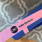 bobo banana Yogamatte Tragegurt Yoga Sling Tragegurt mit verstellbaren Schlaufen f/ür alle Yogamattengr/ö/ßen