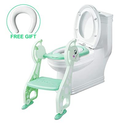 SSBRIGHT Toddler Potty Training Chair, Foldable...