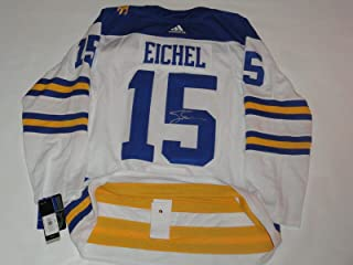 Autographed Jack Eichel Jersey - Adidas 2018 Winter Classic 52 - JSA Certified - Autographed NHL Jerseys