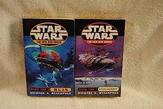 Star Wars: The New Jedi Order Dark Tide 1 & 2: Onslaught & Ruin Paperback Books