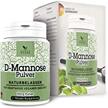 D-Mannose Powder aE Detox againt Cystitis – Health Support for Urinary Tract Bladder aE 3 5oz 2 Months Supply aE 100 Pure aE Made in Germany Estimated Price : £ 19,95