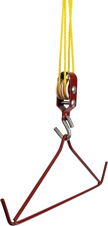 Allen Company 1811 Bargain New product! New type sale Gambrel Hoist Kit - Holds Quantit 500-Lbs.