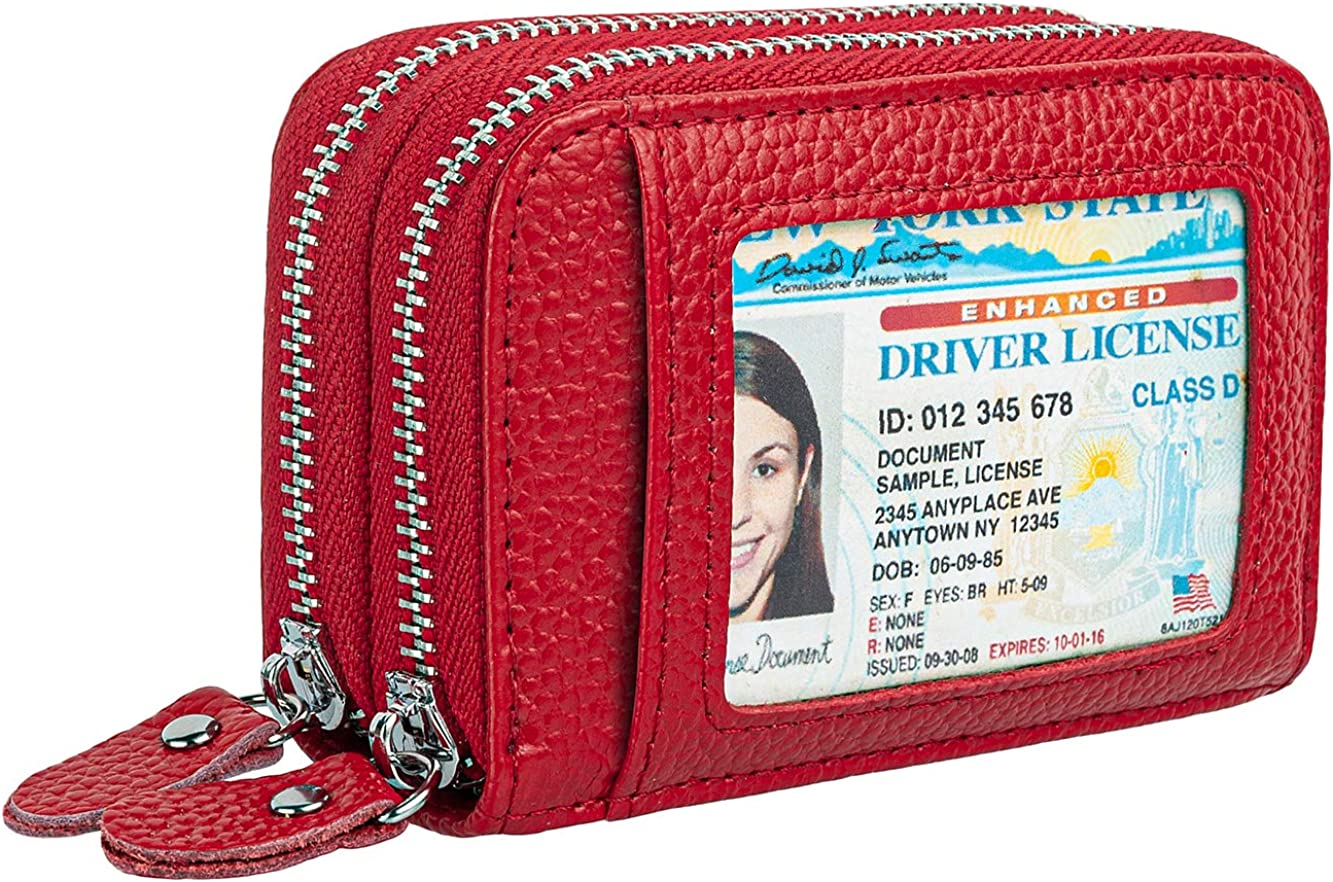 RFID Blocking Leather Wallet for Spring new work one Ranking TOP3 after another Women ID Window G with Women's